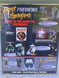 Go to Poster MAD Action Figures Preview • USA