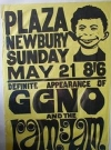 Image of Poster Geno & The Ram Jam Alfred E. Neuman