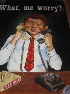 Go to Poster NSA Security Awareness with Alfred E. Neuman • USA