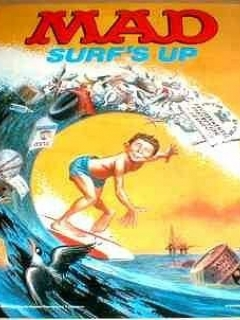 Go to Poster MAD Magazine 'Surf's up' • USA