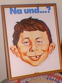 Poster MAD Magazine 'Na Und...?'