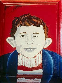 Go to Portrait R.C. Naso 'Famous Faces' Alfred E. Neuman