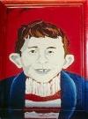 Image of Portrait R.C. Naso 'Famous Faces' Alfred E. Neuman