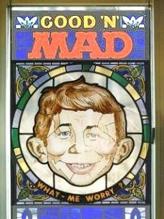 Go to Picture Stained Glass 'Good'N'MAD' • USA