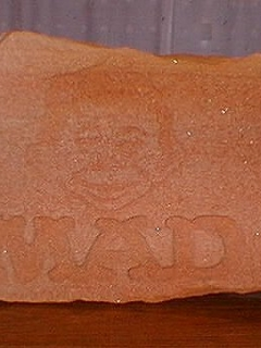 Go to Carved Sandstone Rock Alfred E. Neuman • USA