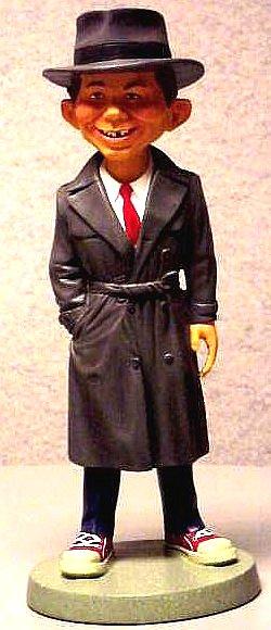 Maquette Alfred E. Neuman as Humphrey Bogart • USA
