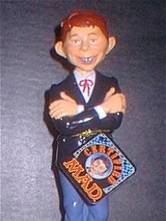 Go to Bobbing Head Alfred E. Neuman (Spencer Gifts) • USA