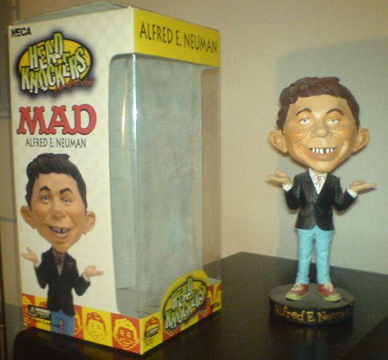 Bobbing Head Alfred E. Neuman (Head Knockers) • USA