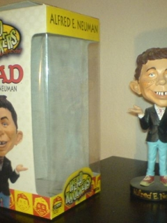 Go to Bobbing Head Alfred E. Neuman (Head Knockers) • USA