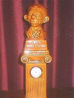 Go to Bust Clock Alfred E. Neuman