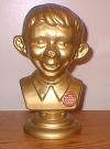Thumbnail of Bust Golden Alfred E. Neuman Plastic