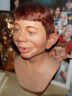 Go to Bust Alfred E. Neuman Life-Size by Gary Mirabelle • USA