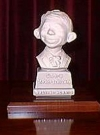 Thumbnail of Bust 5 1/2' Alfred E. Neuman White on Grey Base