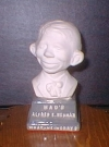 Thumbnail of Bust 4 1/2' Alfred E. Neuman White on Grey Base