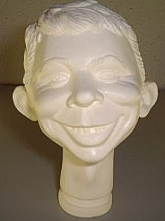 Go to Head Mold Alfred E. Neuman Prototype