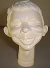 Image of Head Mold Alfred E. Neuman Prototype