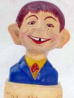 Go to Bust Moseley Alfred E. Neuman • USA