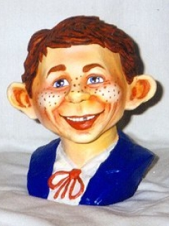 Go to Bust Latex Alfred E. Neuman