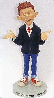 Statue Warner Brothers Store Alfred E. Neuman (12 inch) • USA