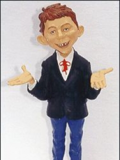 Go to Statue Warner Brothers Store Alfred E. Neuman (12 inch)