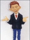Image of Statue Warner Brothers Store Alfred E. Neuman (12 inch)