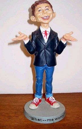 Statue Warner Brothers Store Alfred E. Neuman (14 inch) • USA
