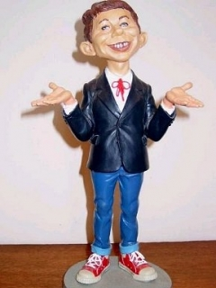 Go to Statue Warner Brothers Store Alfred E. Neuman (14 inch)