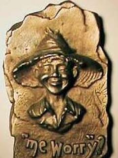 Go to Plaque Pre-MAD Bronze A.E. Mitchel • USA