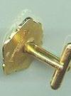 Image of Alfred E. Neuman Pair of Golden Cufflinks