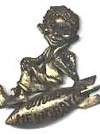 Image of Pin Alfred E. Neuman on a Bomb