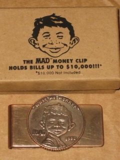Go to Money Clip 'The MAD Money Clip'