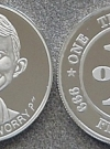 Image of Coin Silver Alfred E. Neuman 'One Troy Ounce'
