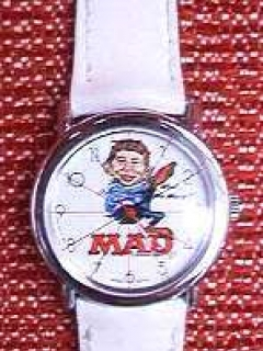 Go to Wrist Watch MAD Magazine 35th Anniversary