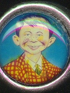 Go to Ring with Pre-MAD Alfred E. Neuman Face #1