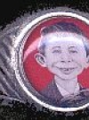 Image of Ring with Pre-MAD Alfred E. Neuman Face #3