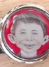 Image of Money Clip with Pre-MAD Alfred E. Neuman Face
