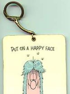 Go to Key Chain Don Martin 'Put on a Happy Face'