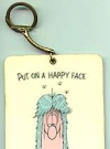 Image of Key Chain Don Martin 'Put on a Happy Face'