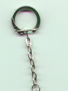 Go to Key Chain - 1950's MAD Jewelry Reproduction