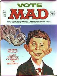 Go to Plate with MAD Magazine Number 211 Cover