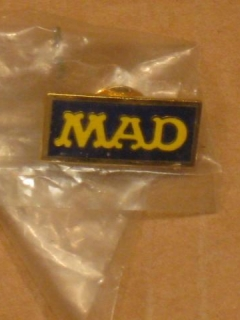 Go to Pin MAD Magazine Staff Logo - Gold/Blue Version • USA
