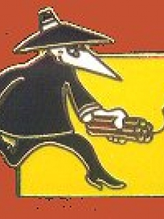 Go to Pin Black Spy Carrying Dynamite • USA