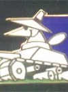Image of Pin White Spy Driving Tank