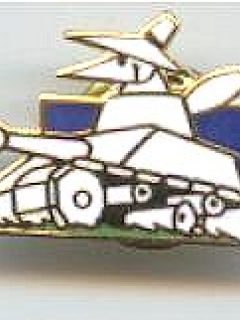 Go to Pin White Spy Driving Tank (Low Silhoutte)