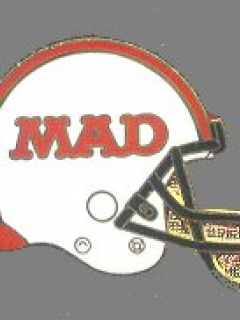 Go to Pin MAD Magazine Football Helmet