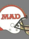 Image of Pin MAD Magazine Football Helmet