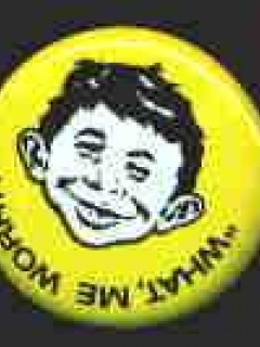 Go to Button Alfred E. Neuman 'Convention • USA