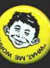 Thumbnail of Button Alfred E. Neuman 'Convention