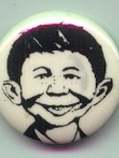 Go to Pinback Button Pre-MAD Alfred E. Neuman #1 • USA