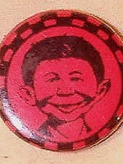 Go to Pinback Button Pre-MAD Alfred E. Neuman #2 • USA